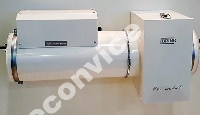 Pure Induct module zuivert lucht met ionisatie